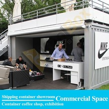 Koolbox shipping container prefabricated shops/stores design,the container store/shop for sale