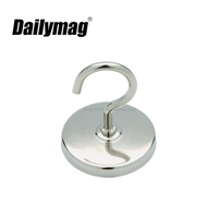 Strong Power Neodymium magnetic power tool, purse hook, magnetic hook with eyebolt