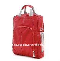 fashion nylon red laptop briefcase for ladies