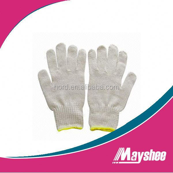 Wholesale Cotton Knitting Safety Work Gloves Cheap Industrial Work Gloves