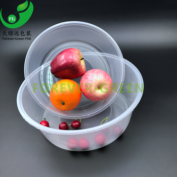 High Quality Food Grade Wholesale Pp Disposable Plastic Salad Container