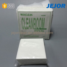 Nonwoven disposable industrial cleanroom wipes