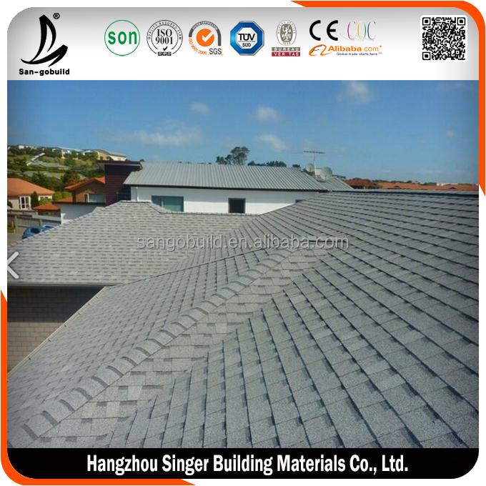 Best quality asphalt shingle roof, hot sale asphalt shingle manufacturers