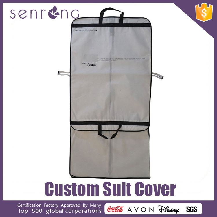 Nonwoven Garment Suit Bag Cover Cheap Suit Cover