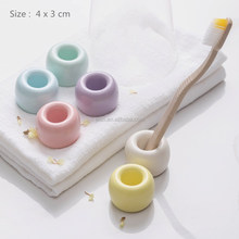 2017 hot-selling ceramic bathroom accessory tooth brush holder