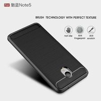 High-End Cell phone cover for Meizu note 5 High Protective for Meizu note5 Carbon Fiber case