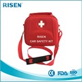 Amazon Best Sellers Car Safety Kit Firs Aid Kit EVA Case with Strap and Medical Equipments