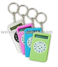 spotlight factory direct,beauty key chain with digital clock