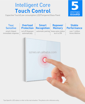 light switch smart control your light via app save your power energy