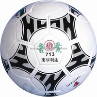 Hand sewing PVC leather soccer ball