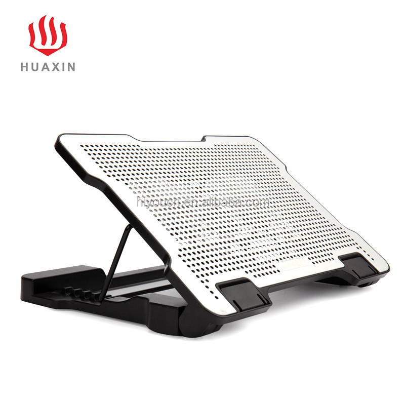 High Quality USB Stable Adjustable Low Noise Anti-skid 2Fans Cooling Pad Laptop Cooler