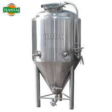 3bbl beer conical fermenter with dimple plate cooling jacket