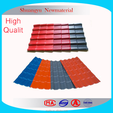 Top Quality PVC Roof Sheet Corrug Sheet For Roof Price/Resin Roof Tile