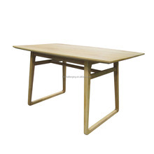 T023A Acacia wood dining table