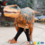 Life size adult realistic dinosaur costume