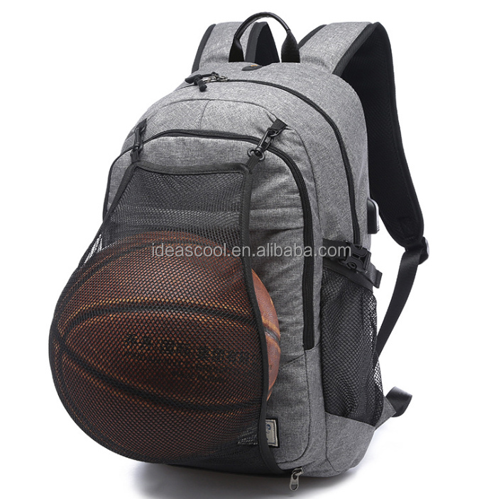 expandable sport bag backpack with ball holder