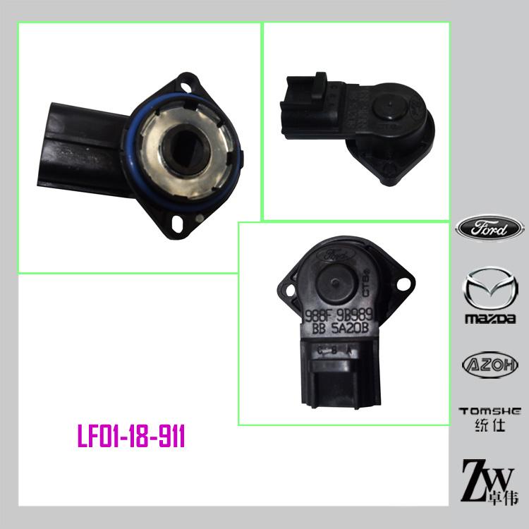 Mazda DENSO THROTTLE POSITION SENSOR LF01-18-911, 988F-9B989-BBR For MAZDA M6 MPV
