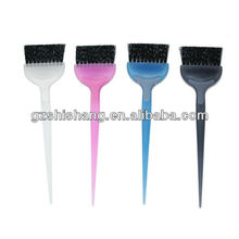 Hair color brush for hair tinting