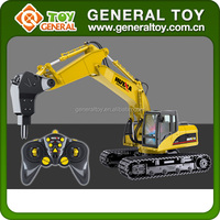 5 channels Rc Construction Toy Trucks Model