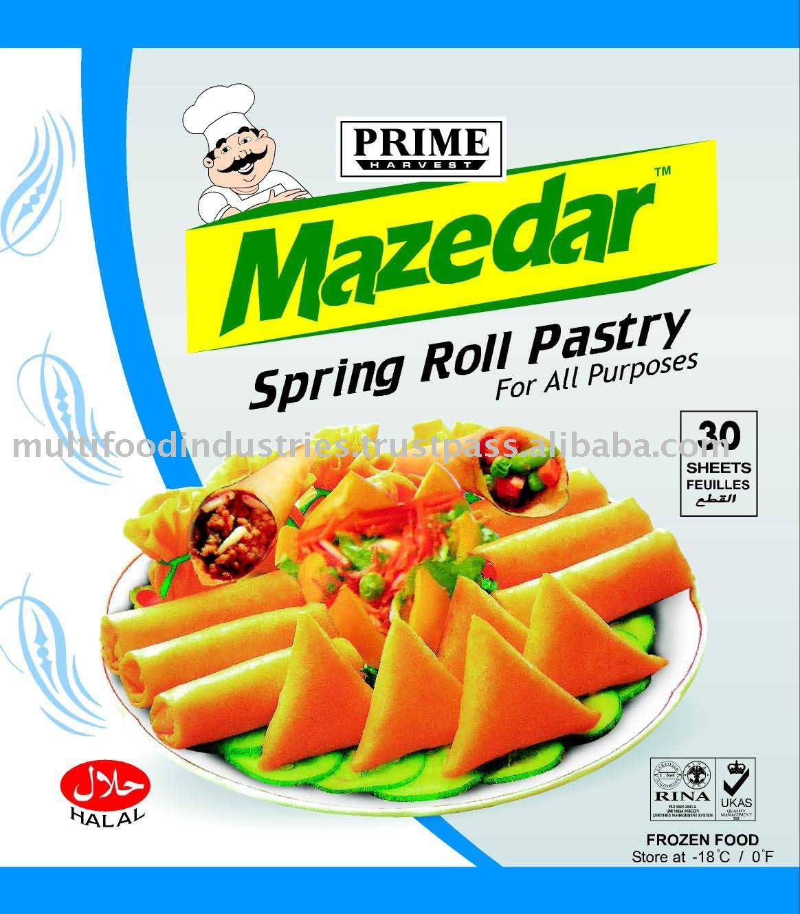 Frozen Spring Roll Pastry Sheet
