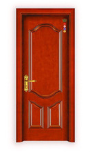 China quality interior simple solid wooden door for hotel doors