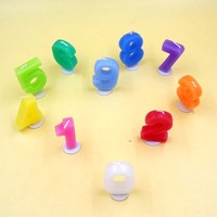 OEM China factory number candle/ birthday candle/fireworks birthday candle