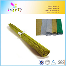 Competitive Chinese gold siver metallic crepe paper