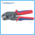 mini european style Non-insulated tabs and receptacles wire rope crimping tool