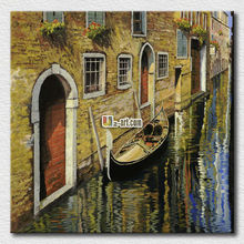 Landscape village paintings Canvas printing wall pictures