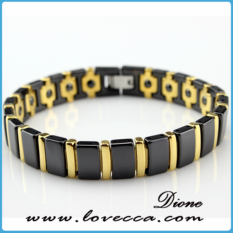 Black Magnetic Hematite Bracelet Fashion Style for Pain Therapy Arthritis Bangles For Father's Day Gift