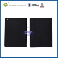 2014 New business section colorful smart cover pu leather case for ipad mini