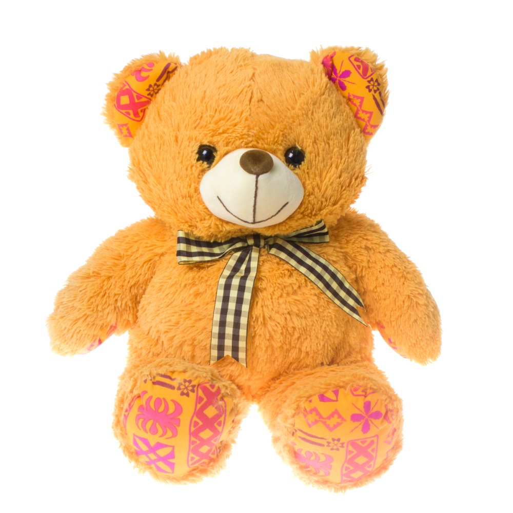 30cm Small Cute Teddy Bears Stuffed Animals Soft Plush Toys White Beige Brown Hold Bears Bow/Necklace Randomly Deliver