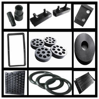 supply high quality EPDM/silicone/Natural rubber/NBR/recycled rubber/CR(Neoprene) rubber moulded parts