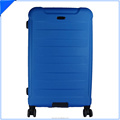 28inch larger blue abs luggage trolley hard shell suitcase