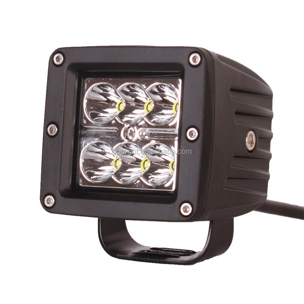 Car accessories truck side lamp 18w work light 20w motorcycle 18w led fog light