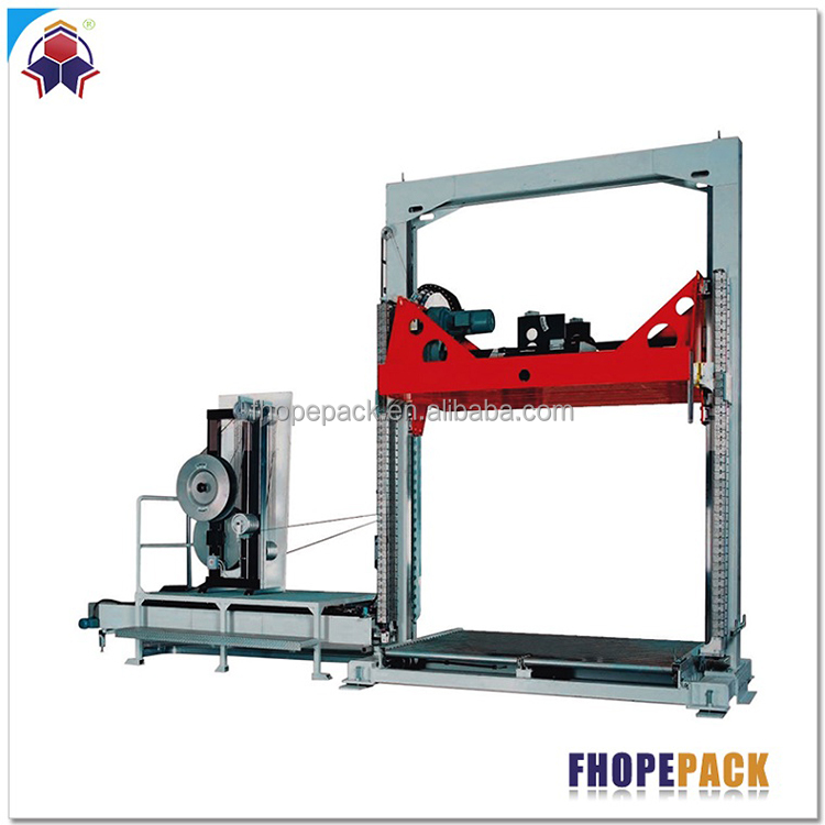 High Polished environmental vertical board strapping equipment