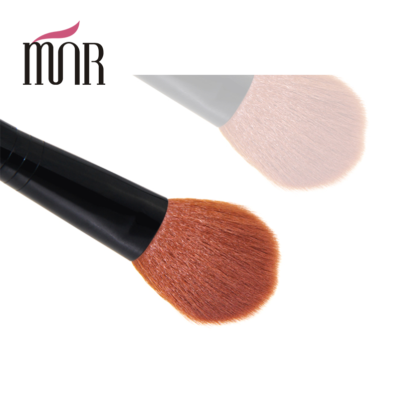 Mushroom Kabuki Brush Blush Loose Powder Brush Large Face Mineral by Fine Hair