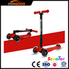 Foldable maxi kick scooter with led light up wheels, kick scooter for sale