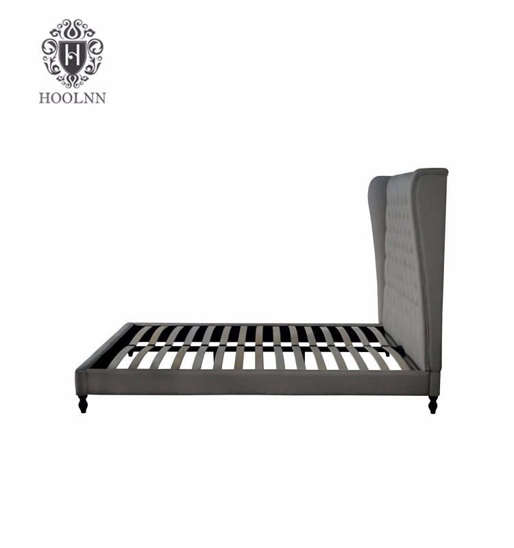 schlafzimmer m bel holz franz sisch polsterbett mit. Black Bedroom Furniture Sets. Home Design Ideas