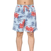 stylish quality 100% polyester custom sublimated florist man swim shorts
