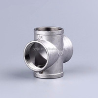 Stainless Steel 4 Way Cross Pipe Fitting