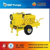 BBP (Sundream) Diesel engine driven Self priming sewage pump ISO9001 certified