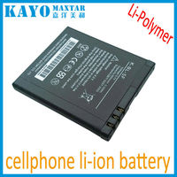 prismatic polymer lithium ion cellphone battery 3.8V