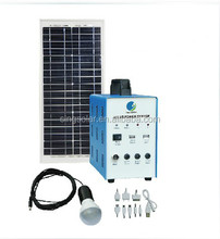 good quality green energy home use 10W mini solar system for house use