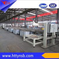 automatic electric water heater enamel tank cleaning production line