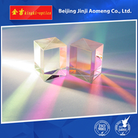 High Quality Cheap +0.0/-0.2 polarizing beam splitter glass