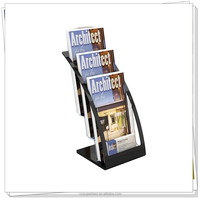 Acrylic magzine display stand/acrylic document holder