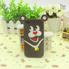 Innovative products fashion animal silicone phone case