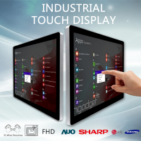 waterproof touch screen monitor ip67 Advertising lcd 4k best pc monitor with touch display