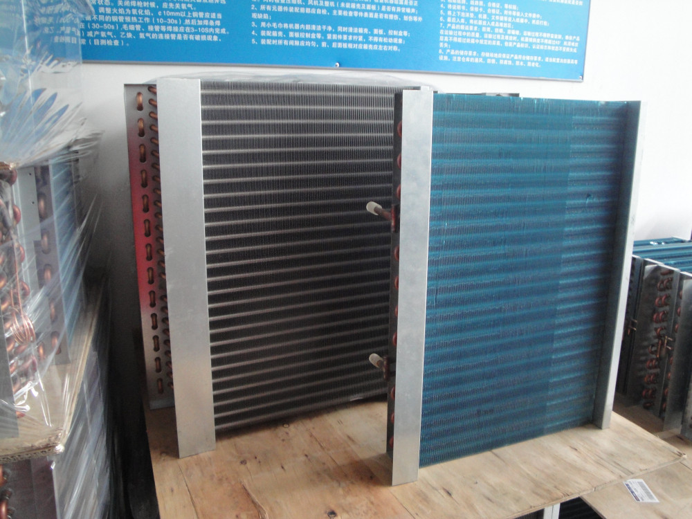 small refrigeration air evaporator and condensator